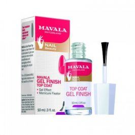 Mavala GEL FINISH TOP COAT  Svrchní lak s gelovým efektem 10ml