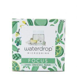 Waterdrop™ FOCUS (limeta / zelená káva / baobab)  microdrink 12 kapslí