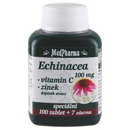 MedPharma Echinacea 100 mg + vit.C + zinek 107 tablet