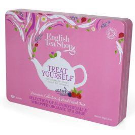 English Tea Shop Dárková sada čajů 36 sáčků/6 příchutí - růžová