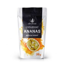 Allnature Lyofilizovaný ananas 20 g