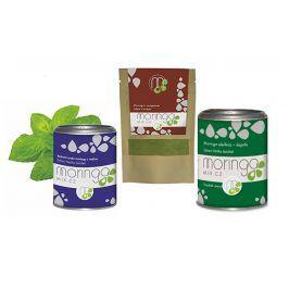 Moringa MIX Dárkové balení Moringa oleifera s mátou 100 g