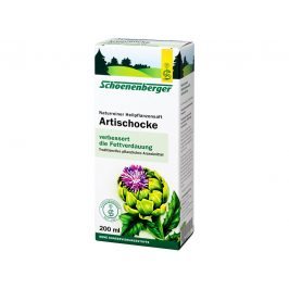 Schoenenberger Bio čerstvá rostlinná šťáva Schoenenberger - Artyčok 200ml