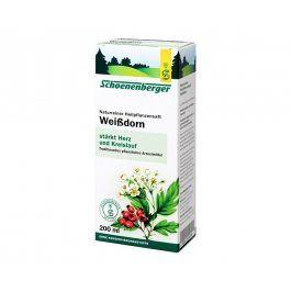 Schoenenberger Bio čerstvá rostlinná šťáva Schoenenberger - Hloh 200ml