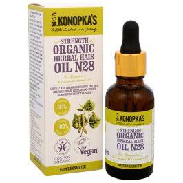 Dr. Konopka´s Bylinný olej na vlasy č. 28 pro posílení vlasů 30 ml