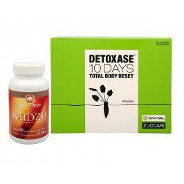 Pharma Activ Kudzu 60 kapslí + Detoxase 10 days Total Body Reset 10 sáčků
