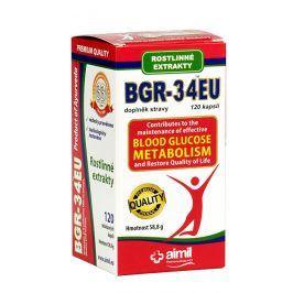 Aimil Pharmaceuticals BGR-34EU 120 kapslí