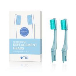 Tio náhradní hlavice k zubnímu kartáčku ledovcově modrá ultra soft 2 ks