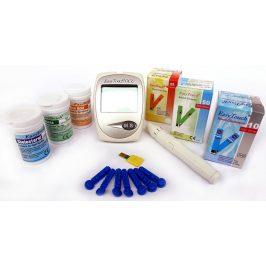 EasyTouch Cholesterolmetr 3v1 + 3 krabičky proužků