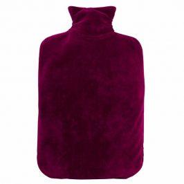 Hugo Frosch Eco Classic Comfort termofor se sametovým obalem fialový