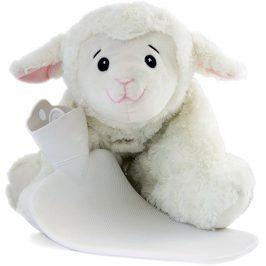 Hugo Frosch Classic 3 v 1 dětský termofor s polštářkem ovečka