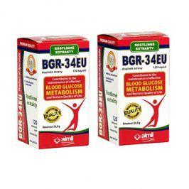 Aimil Pharmaceuticals BGR-34EU 120 kapslí + 120 kapslí ZDARMA