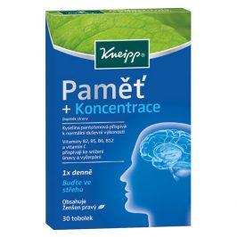 Kneipp - bylinky Paměť + Koncentrace 30 tobolek