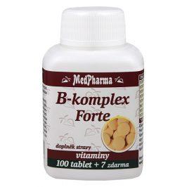 MedPharma B-komplex Forte 100 + 7 tablet ZDARMA