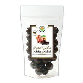 Salvia Paradise Lísková jádra v hořké čokoládě 150 g