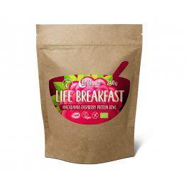 Lifefood Bio Life breakfast Kaše malinová s makadamiemi 300g