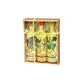 Kitl Syrob dárkové balení (3 x 500 ml) bez, zázvor, máta