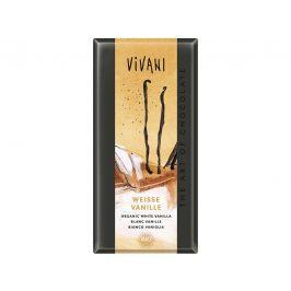 VIVANI Bio bílá čokoláda s vanilkou 80g
