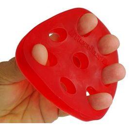Thera-Band Thera-Band Hand Xtrainer - posilovač prstů a dlaně Červený - měkký