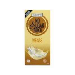 FRANKONIA Bílá čokoláda bez přidaného cukru 80g