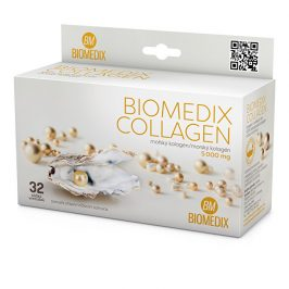 Biomedix Biomedix Collagen 32 sáčků + C-Vitamin 100 mg 60 tablet