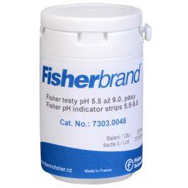 Fisher Scientific Indikátorové pH papírky (5.5 - 9.0) 200 ks