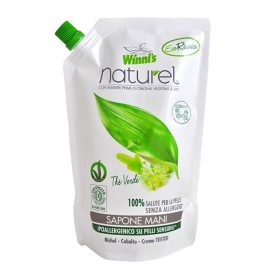 Winni´s NATUREL Sapone Mani Ecoricaria The Verde tekuté mýdlo se zeleným čajem - náhradní náplň 500 ml