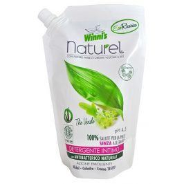 Winni´s NATUREL Sapone Intimo Ecoricaria The Verde tekuté mýdlo pro intimní hygienu se zeleným čajem - náhradní náplň 500 ml