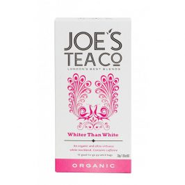 Joe´s Tea Co. Bílý čaj BIO 15 pyramidek