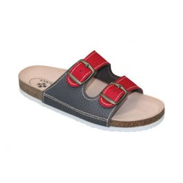 SANTÉ Zdravotní obuv dámská D/21T/911/910/BP červeno-šedá 36