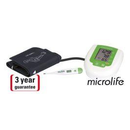 Microlife Tlakoměr BP 3AG1 digitální automatický s teploměrem MT 3001