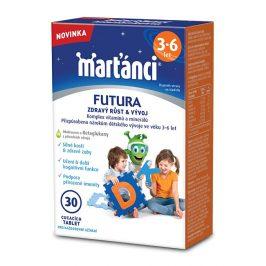 Walmark Marťánci FUTURA 3-6, 30 tablet