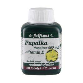 MedPharma Pupalka dvouletá 500mg vitamín E 67 kapslí