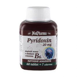 MedPharma Pyridoxin (vitamin B6) 20mg 67 tablet
