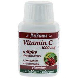 MedPharma Vitamín C 1000 mg s šípky 37 tablet