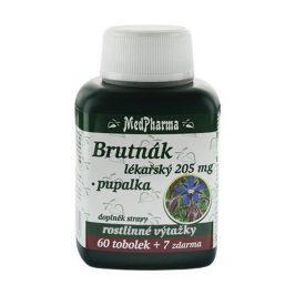 MedPharma Brutnák lékářský 205 mg + pupalka 60 tob. + 7 tob. ZDARMA
