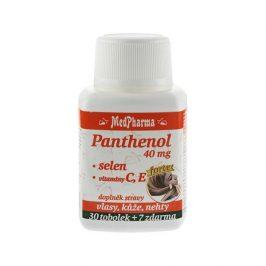 MedPharma Panthenol 40 mg Forte + selen + vitamín C, E 30 tob. + 7 tob. ZDARMA