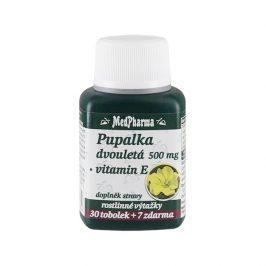 MedPharma Pupalka dvouletá 500 mg + vitamín E 37 tablet