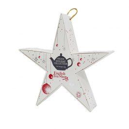 English Tea Shop Červená a stříbrná hvězda BIO 6 pyramidek