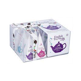 English Tea Shop Dárková vánoční krabička Zimní kolekce BIO 12 pyramidek