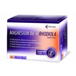 Noventis Magnesium B6 + Rhodiola 30 tbl. + 10 tbl. ZDARMA