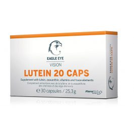 Agency MM Health Eagle Eye Lutein 20, Vision Caps 30 kapslí