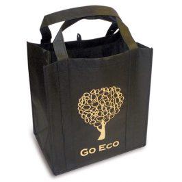 Kappus Nákupní taška GO ECO tmavě hnědá