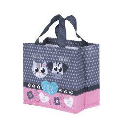 Kappus ECO taška I Love Pets růžová