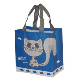 Kappus ECO taška KityKat modrá