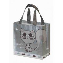 Kappus ECO taška KityKat stříbrná