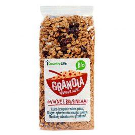 Country Life Granola - Křupavé müsli ovocné s klikvou BIO 350g