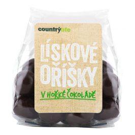 Country Life Lískové oříšky v hořké čokoládě 100 g
