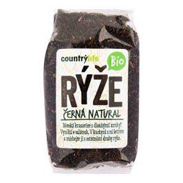 Country Life Rýže černá natural BIO 500g