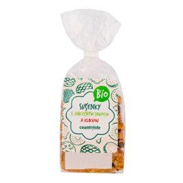 Country Life Sušenky s jablečným sirupem a klikvou BIO 175 g